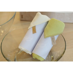 Brushed tricot glass towel(NEB)